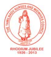 Tamil Nadu Nurses And Midwives Council Constituted under the Tamilnadu Nurses and Midw ives Act