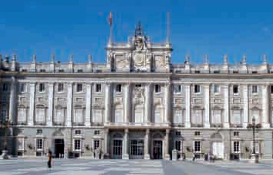 filled with paintings by Goya and Velázquez and beautiful Patio de Armas del Palacio Real. 46