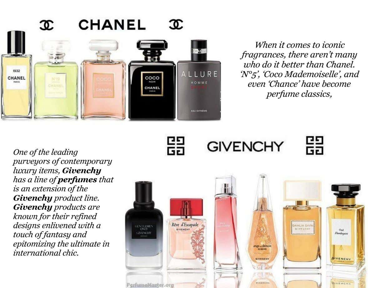 When it comes to iconic fragrances, there aren't many who do it better than