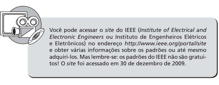 Você pode acessar o site do IEEE (Institute of Electrical and Electronic Engineers ou Instituto