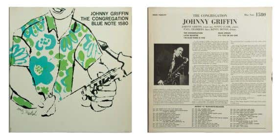 THE CONGREGATION 1957 Johnny Griffin LP, 12'' (30 cm), Blue Note Records Jazz L'artista realizza