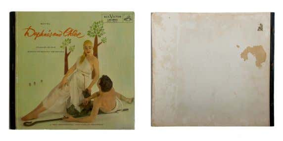 DAPHNIS AND CHLOE 1955 Maurice Ravel (Boston Orchestra) LP, 12'' (30 cm), RCA Victor Classica