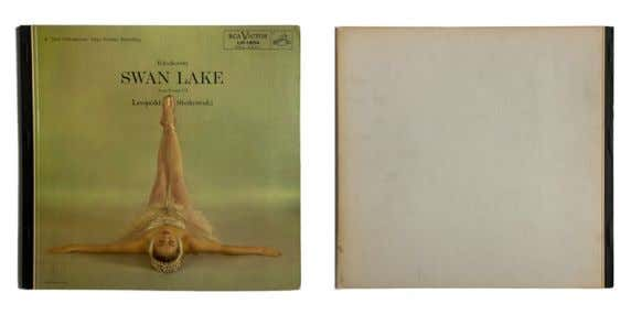 SWAN LAKE: ACTS II AND III 1955 Pyotr Ilyich Tchaikovsky (NBC Orchestra) LP, 12'' (30