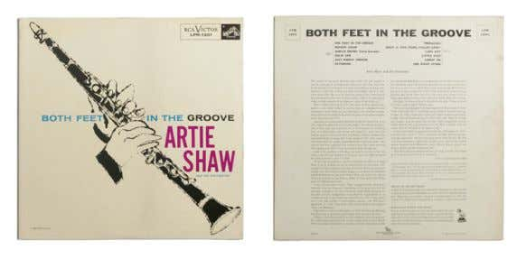 BOTH FEET IN THE GROOVE 1956 Artie Shaw LP, 12'' (30 cm), RCA Victor Jazz