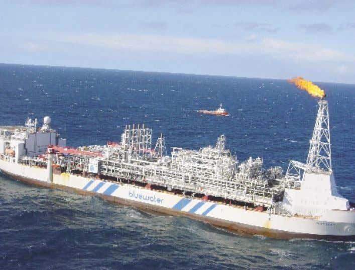 and southwest coast. Glas Dowr FPSO on site - August 2003. 8 Sable Field Subsea Components