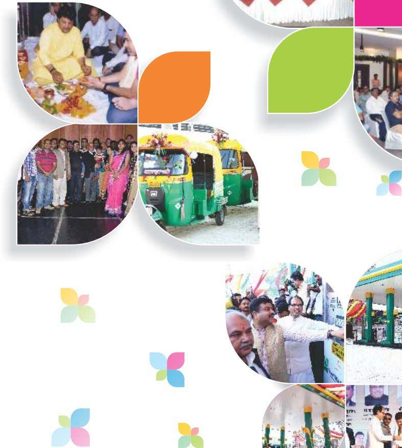 CNG Customer Meet New Office Inauguration, Indore Inauguration Ceremony of Ujjain CNG Mother Station
