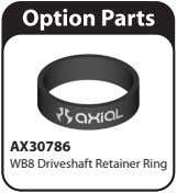 AX30786 WB8 Driveshaft Retainer Ring