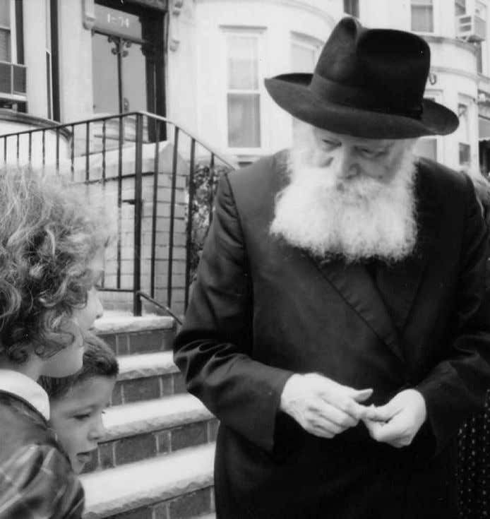 Rebbe, that arouses the nations' esteem and admiration for us. As the Rebbe puts it, ""