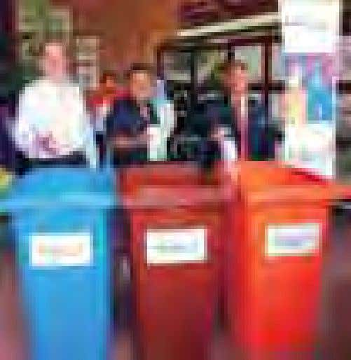 and rejuvenate the spirit of recycling in school children. n Kempen Kitar Semula F&CC & MBSA