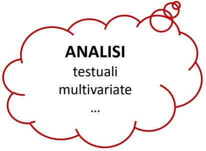 ANALISI testuali multivariate …