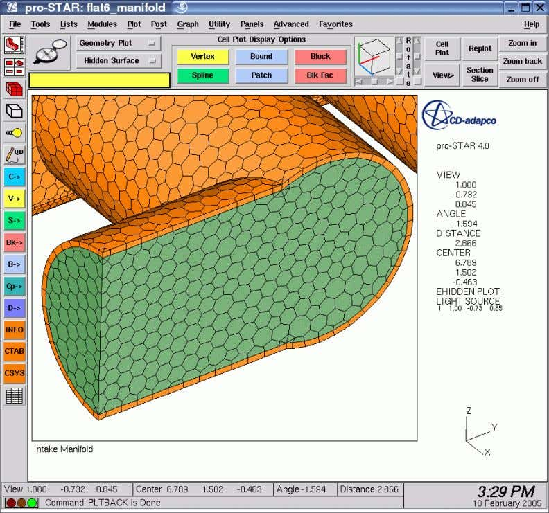 CFD Basics – Volume Mesh Types Polyhedral Mesh CD-adapco , Americas Agency Training Document CFD Basics