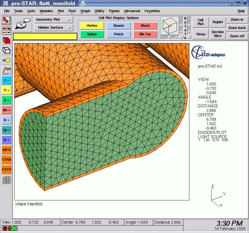 CFD Basics – Volume Mesh Types Tetrahedral Mesh CD-adapco , Americas Agency Training Document CFD Basics