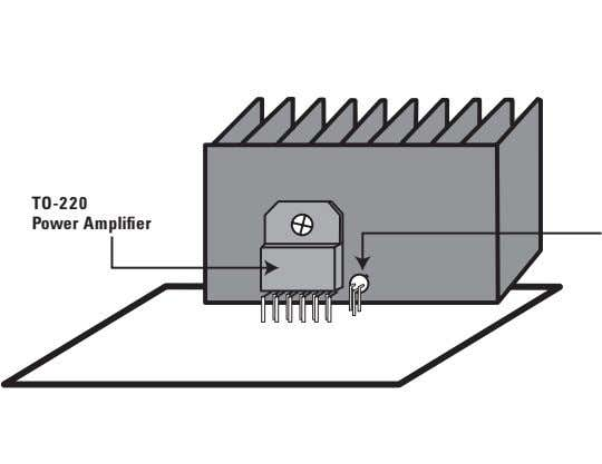 TO-220 Power Amplifier