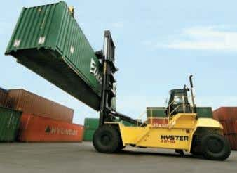 to customers, when 2nd / 3rd row storage is not required. n First Row Container Stackers,