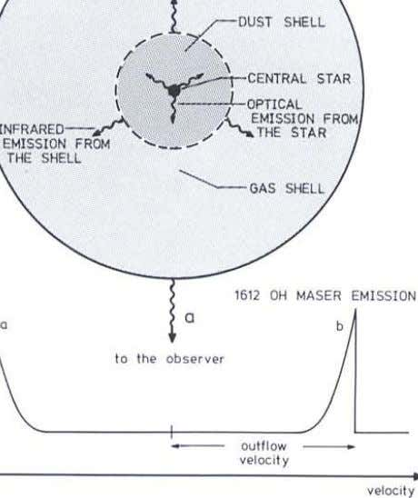 "-1_~OUST SHELL """" 7', /' '\ / \ CENTRAL STAR I \ ( OPTICAL -l"
