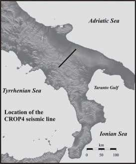 Apennine crustal section CROP 03 location 59 of 96 8/9/2012 10:47 AM