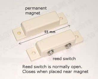 Used inside moving machinery Magnetic or Reed switch Useful for parts that open and close Tilt