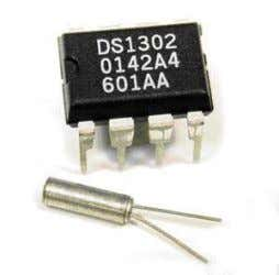crystal displays Serial interfaces to Real Time Clocks and Thermistors and drive small inductive loads and