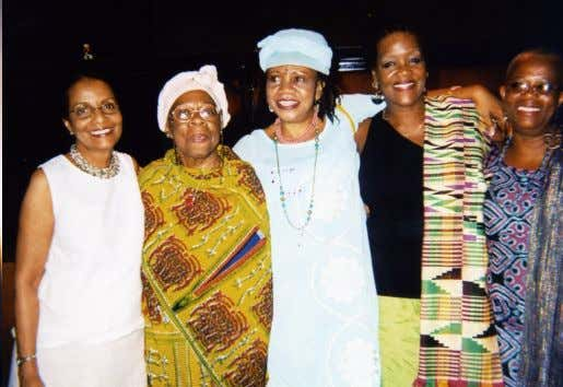 and Former Special Advisor to the Nigerian President). ―The Flow‖ Professor Acholonu-Olumba with her colleagues