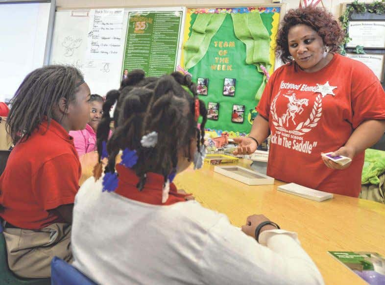 ACE, PAGE 7C Transforming students at 'THE RANCH' JIM HUDELSON/THE TIMES Westwood Elementary teacher Heather