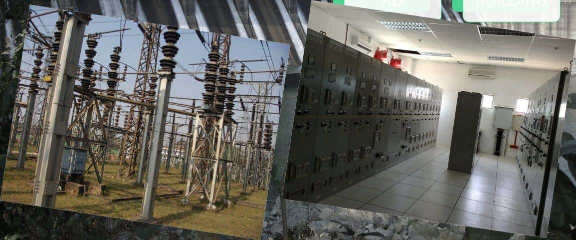 SUBSTATIO N CONTROL BUILDING 33KV SYSTEM NAME OF THE CONSUMERS: 1) IMPEX STEEL (PVT) LTD.(CD-7.0MVA) 2)