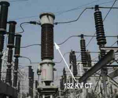 Instrume nt transfor mer Current Potential transfor transfor mer mer CURRENT TRANSFORMER (CT): MAKE – ELECTRIC