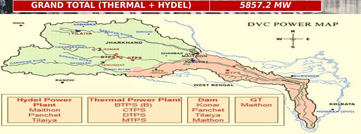 GRAND TOTAL (THERMAL + HYDEL) 5857.2 MW