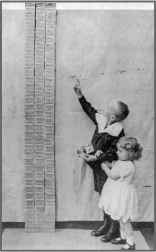 This is what a one billion Mark bill looks like in 1923. In 1923, Children stood