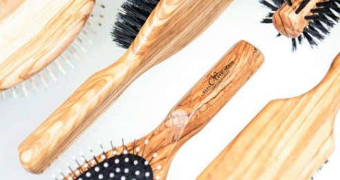 Hair and body care brushes. Beautiful brushes for any type of hair. Issue 52   |