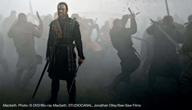 Macbeth. Photo: © DVD/Blu-ray Macbeth, STUDIOCANAL, Jonathan Olley/See-Saw Films