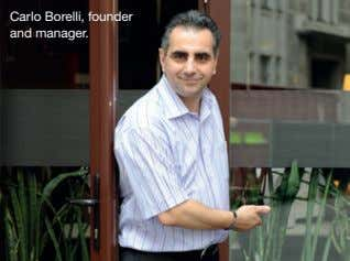 Carlo Borelli, founder and manager.