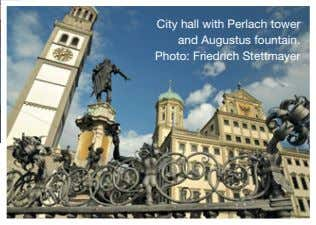 City hall with Perlach tower and Augustus fountain. Photo: Friedrich Stettmayer