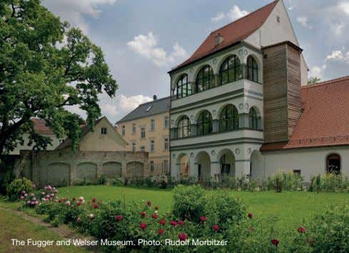 The Fugger and Welser Museum. Photo: Rudolf Morbitzer