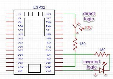 • Microcontroller has maximum 200mA load • Inverted logic (0 : ON, 1 : OFF) •