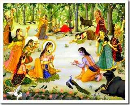 BIG JOKE of a world of mortals - yannruloka vidambanam . Uddhava meets with the Gopis
