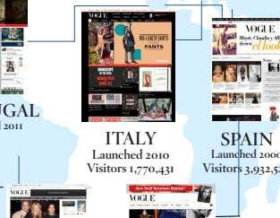 ITALY Launched 2010 Visitors 1,770,431
