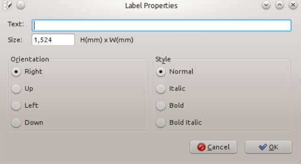the schematic to bring up the Label Properties dialog box. Provide a name for the net