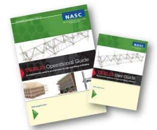 of independent scaffolds. 2. NASC Guidance TG20:13 TG20:13 Good Practice Guidance for Tube and Fitting