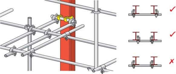it is not possible to provide a through tie. Girder Clamps Fig. 25 For girder clamp