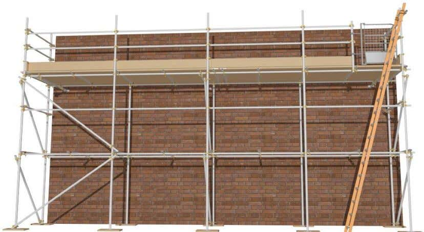 scaffold commonly being used in many different industries. Fig. 1 Typical Independent Scaffold Scaffolds can be