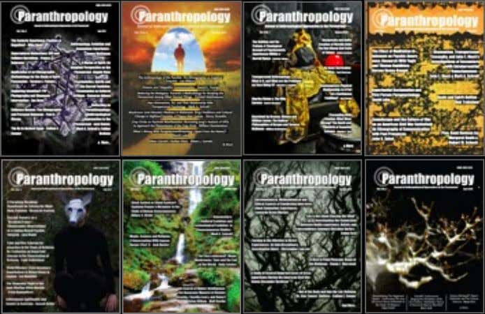 Download for free: back-issues www.paranthropology.co.uk