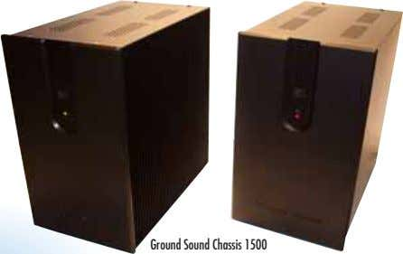 Ground Sound Chassis 1500