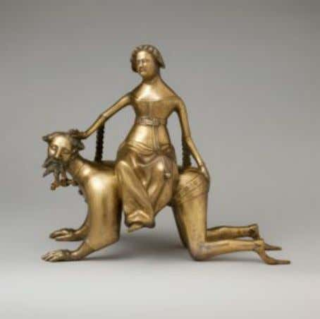 Fig. 3c. Lucas Cranach the Elder, 1530, private collection Fig. 3d. Aquamanile in the form of