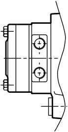 to the tank. Refer to the diagrams below: Internal drainage External drainage c) Brake control Gearmotors