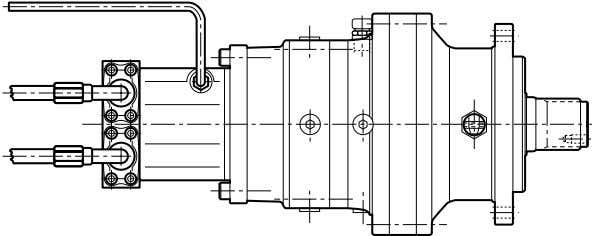 pre - vent air pockets from forming which may affect pump suction during operation. A-B =