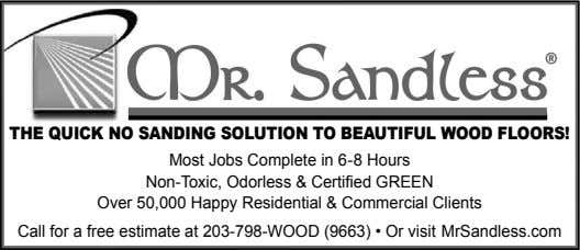 THE QUICK NO SANDING SOLUTION TO BEAUTIFUL WOOD FLOORS! Most Jobs Complete in 6-8 Hours