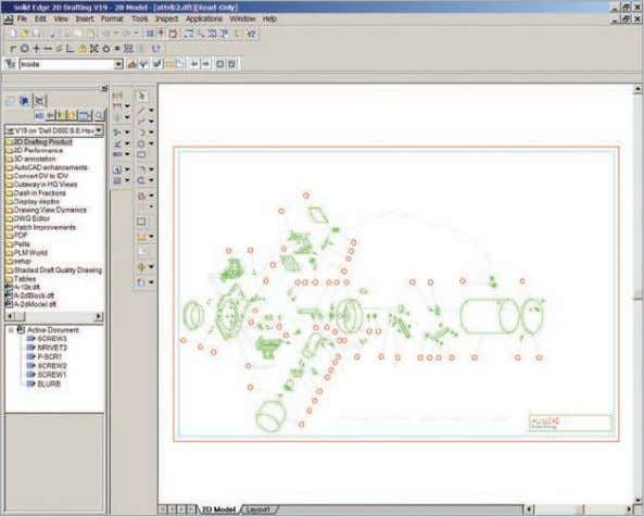 FAQ To configure Solid Edge 2D Drafting, first see the Q&A topic 'How can I set