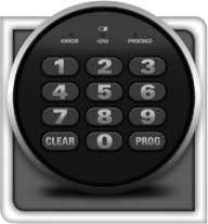 Programmable Electronic Lock NOTE: • Store code (and keys if equipped) in a secure location
