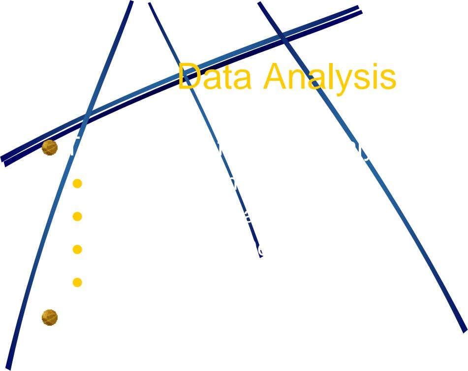 Data Analysis Typical tools for data analysis  Entity Relationship diagram  Data flow diagram 