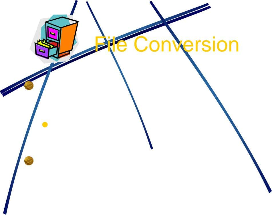 File Conversion 